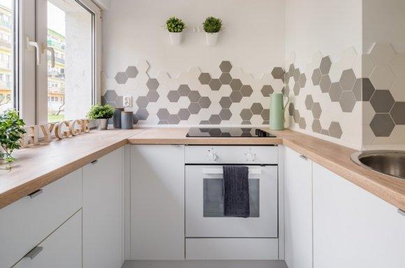 Pose de faïence dans une cuisine d'un logement neuf Clermont-Ferrand
